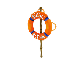 Bikini Bottom Sign by RubiiART