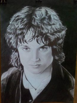 Frodo Baggins by kevseher