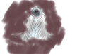 Tablet Sketch! A wraith? by CirrusCloud9