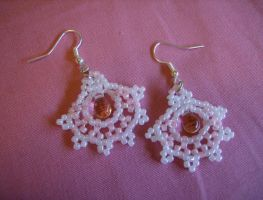 Babydoll Lace Earrings by MythrilAngel