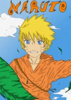Naruto in the Sky by MiaKa-CiD
