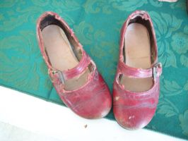 Little Old Red Shoes by pandora1921