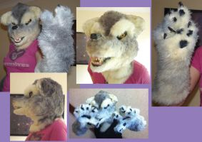 Werewolf costume by hamstertoybox
