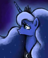 Princess Of The Lonely Moonlight  by Denigirl