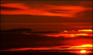 SKIES ON FIRE by VasiDgallery