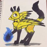 Bill Cipher as a Cat by ScratchDixie