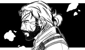 Punished Snake Lineart by DerP3ter