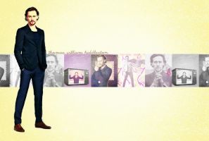 Tom Hiddleston Wallpaper by criminal-who