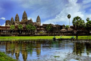 Angkor Wat - 1 by DawnRoseCreation