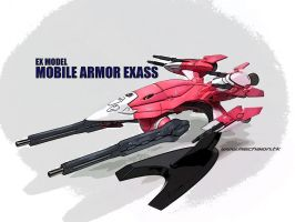 Mobile Armor Exass by Mechaion