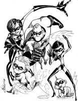 The Incredibles by atzalan