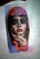 Day of the dead by amourdelart
