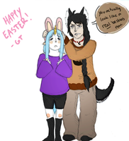Easter! by GiantTomatoes