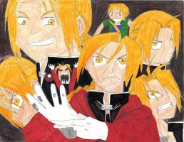 Edward Elric Collage by FinalGenesiss