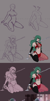 Slave Aira-ty Step By Step by rayn44