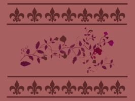 Floral Wallpaper by LPCD