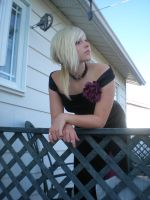 Lady rose at the balcony 21 by gsdark-stock