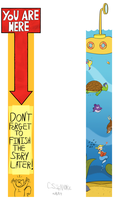 Bookmark Designs 2 by qwertypictures