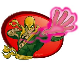 Ironfist Commish by lordmesa