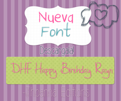 Nueva Font by JhoannaEditions