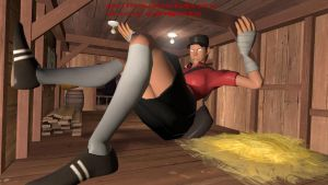 Giant Psychopath Femscout Stuck by TheImperialCombine