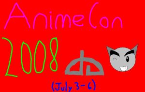Anime Con poster entry four by notacukoofangirl121