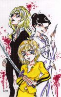 Kill Bill anime by Magzdilla