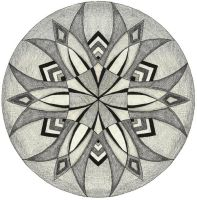 Mandala 2 for Demented Sanity by sweetmarly
