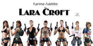 Lara Croft - Line-up by TheSnowman10