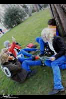 Cosplay APH Gakuen - Studying by 0-Aredhel-0
