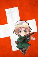 Hetalia iWallpapers - Switzerland by Dreamweaver38