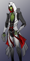 Thane as an Assassin by BlackKrogoth