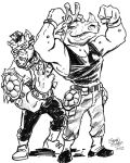 Bebop and Rocksteady by hoganvibe