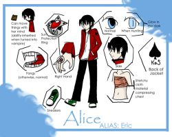 +Alice 'Eric'  Reference+ by xdarksoul07x