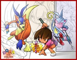 Dora the Slayer by Windam