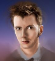 David Tennant Doctor Who by YlianaKapella-Neidon