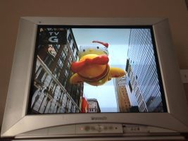 Hello Kitty on the Macy's Thanksgiving Day Parade! by ArchiplexToonsNAnime
