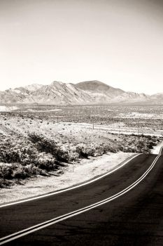 Road to Death Valley by PhotoartBK