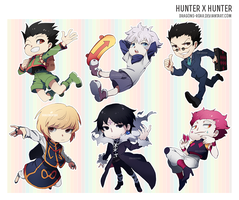 Hunter x Hunter Chibis by Dragons-Roar