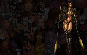 Witchblade.Spears by Troilus