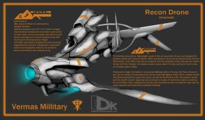 Vermas Recon Drone by DKDevil