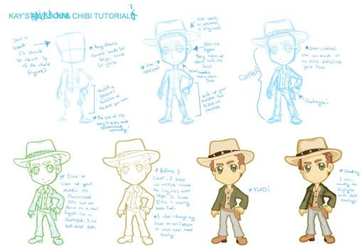 How Kay Draws Chibis- a Tutorial by StegeKay