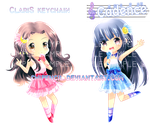 ClariS party time by chiPencil