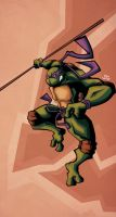 Donatello by Tigerhawk01
