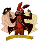 foxy the pirate by luiginafan