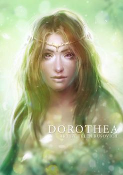 Dorothea, The Dream Weaver by oione