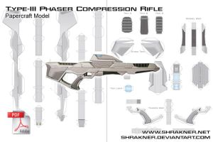 Phaser Rifle Final Pattern by shrakner