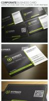 Corporate Business Card - RA54 by respinarte
