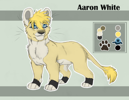 Aaron White CUB Ref SHEET 2013 by KasaraWolf