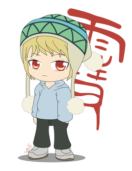 Yukine Chibi by ProjectSNT